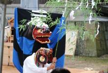 片山日子神社での総舞報告