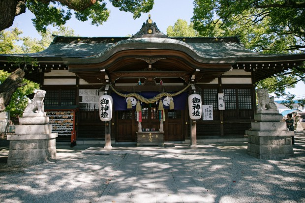 金岡神社での総舞報告