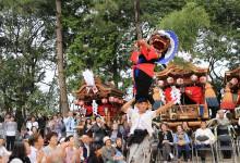 奈良県橿原市十市町秋祭での総舞報告