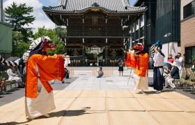 【特集】山本源太夫社中 春日神社での総舞報告