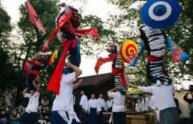 増田神社での総舞報告