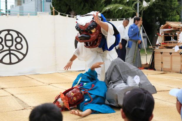 伊勢大神楽 山本勘太夫 獅子舞