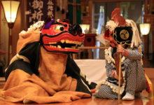 椿大神社(獅子神御祈祷神事)