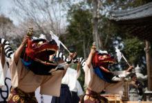 """4月7日 滋賀県守山市""""蜊江神社""""での総舞ご報告"""