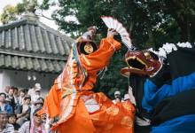 波太神社での総舞報告