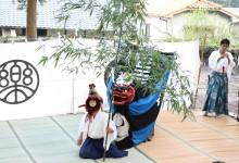 立河神社での総舞報告