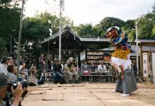 10月13日 住吉神社での総舞報告