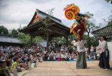 7月29日 波太神社での総舞ご報告