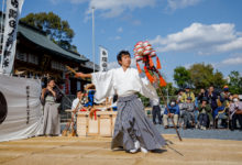 4月8日 隅田八幡神社での総舞ご報告