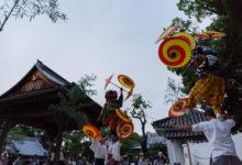 7月28日 波太神社での総舞報告