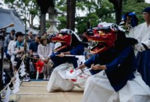 7月28日波太神社での総舞ご報告