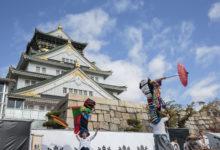 """11月21日""""駆け上がれ!秀吉~大阪城の秋祭り~にて公演(第一部)"""